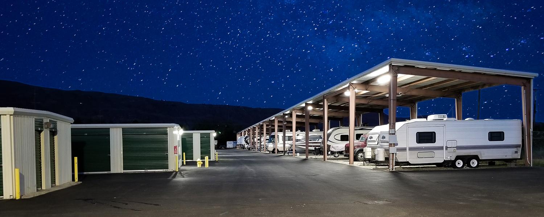 EZ Access Storage Facility with RV Storage in Rock Island, WA