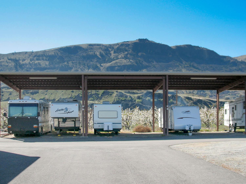 RV and Camper storage in Wenatchee, WA