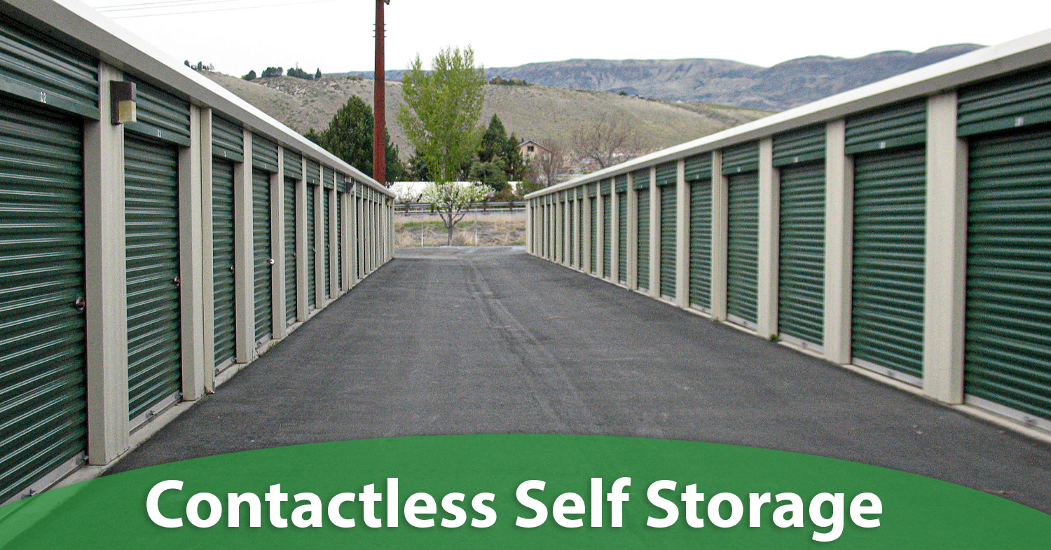 Contacless Self Storage in Wenatchee WA