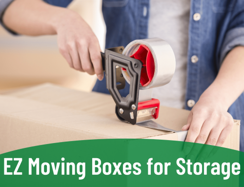 EZ Moving Boxes for Storage