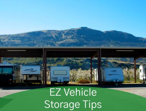 EZ Vehicle Storage Tips