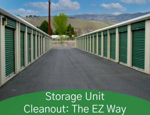 Storage Unit Cleanout: The EZ Way