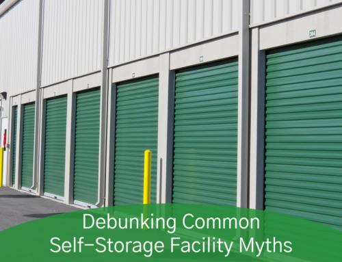 Debunking Common Self-Storage Facility Myths