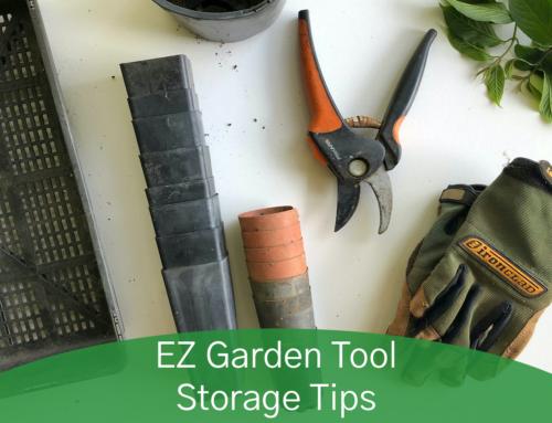 EZ Garden Tool Storage Tips